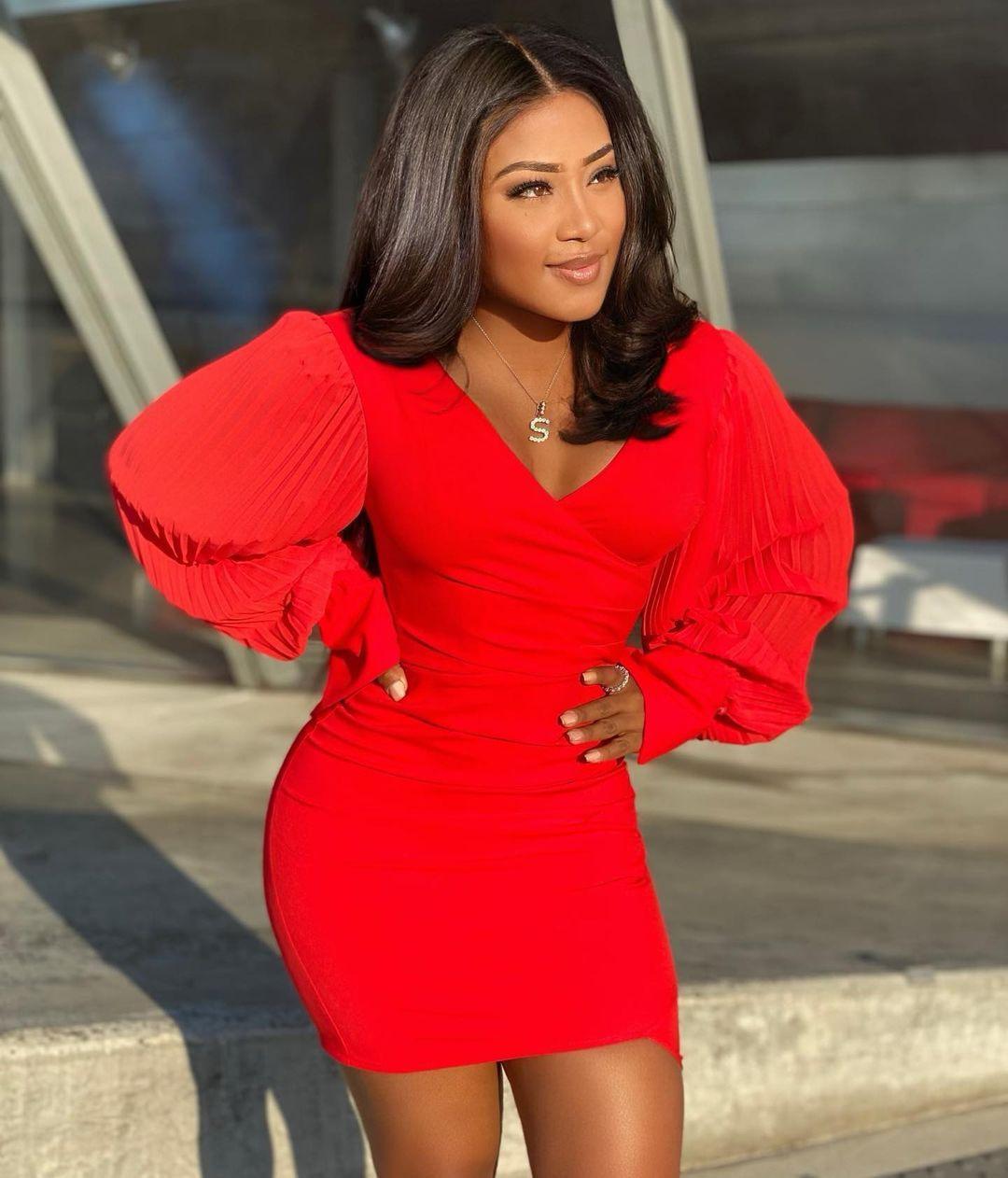 Autumn women dresses long sleeve waist closing slim bag hip skirt nightclub sexy low cut open chest dress