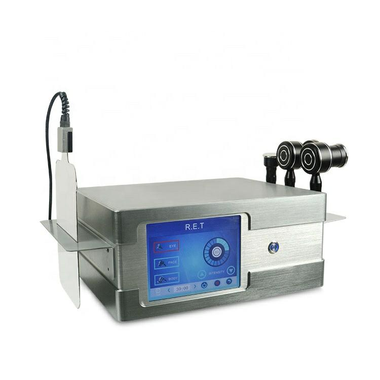 Doğrudan Etkisi CET RET TEKNOLOJİSİ Zayıflama Yağ Temizleme Ağırlığı Küçültülmüş Radyofrekans Monopolar RF Cilt Sıkılaştırma Vücut Şekli Güzellik Makinesi için