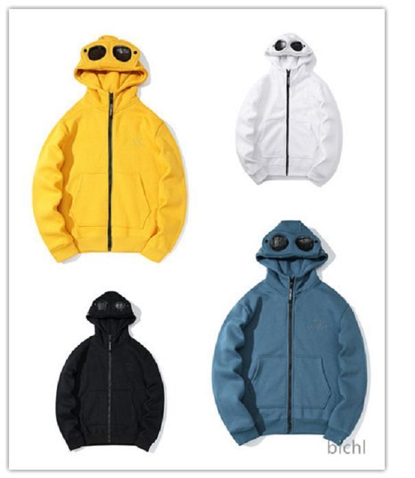 Tendance Sweat-shirt de mode Coréen Pullover CP Breaker Cardigan Pull à capuche à capuche à capuche à manches longues