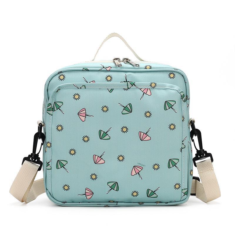 Sunveno Bebek Bezi Çanta Analık Çantası Tek Kullanımlık Kullanılabilir Moda Baskılar Için Islak Kuru Bezi Çanta Çift Kolu Islak Çanta 21 * 17 * 7 cm 797 Y2