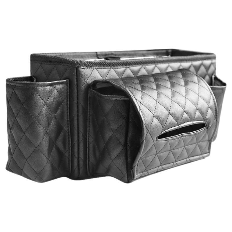 Organizador de carros 1 pc Durável Durável Creative Creative Portable Organizadores Assento Back Back Backseat para Hanging Storage Ornament Decorati