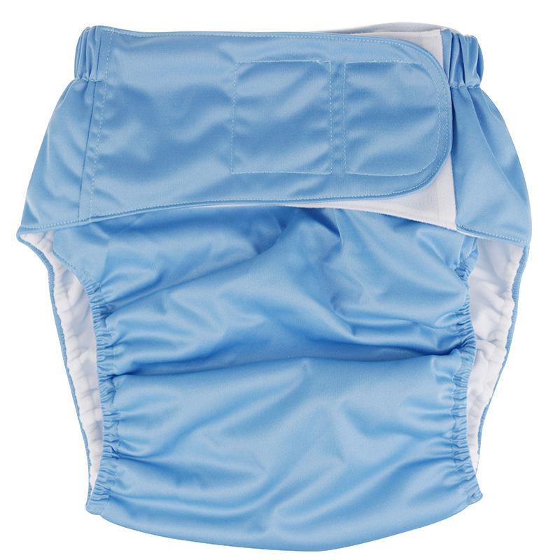 Yetişkinler Yıkama Bezi Sihirli Sopa Bez Bezi Yaşlı Erkekler Sızdırmaz Bezi Pantolon Şort Kullanımlık Bezi 11 Renkler ZYY550 629 Y2 Kapakları
