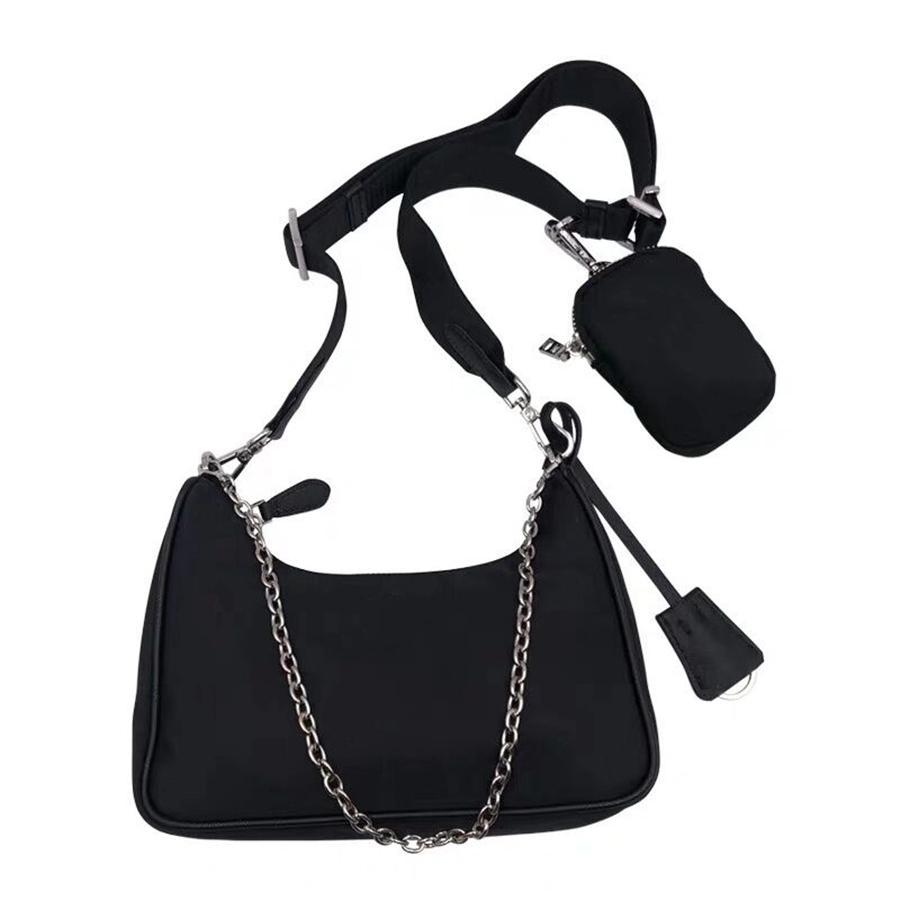 여성의 가슴 팩 여성 토트 체인 핸드백 노안 지갑 메신저 가방 배낭 캔버스 가방 패션 어깨 가방