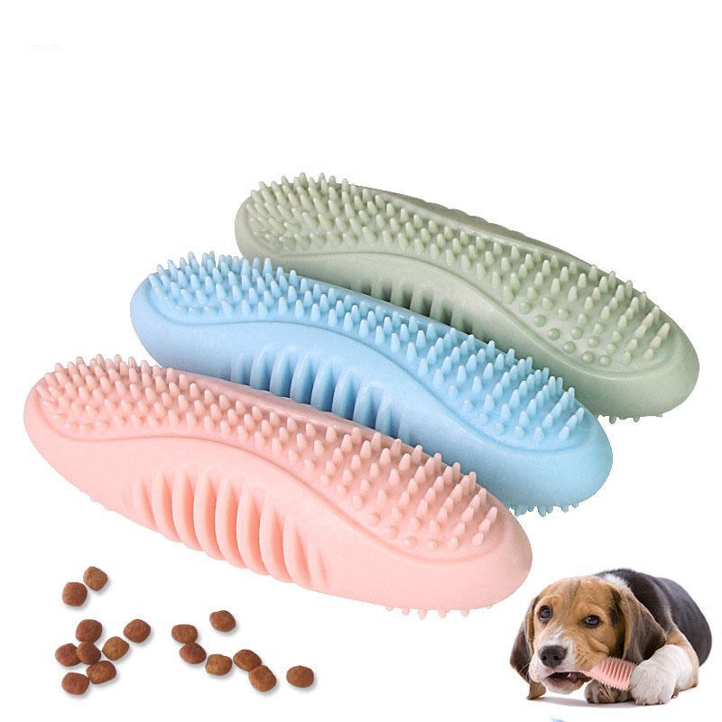 يمضغ جرو لعبة الكلب للتسنين لمدة 2-8 أشهر، وتنظيف الأسنان الحيوانات الأليفة وتهدئة آلام النمو