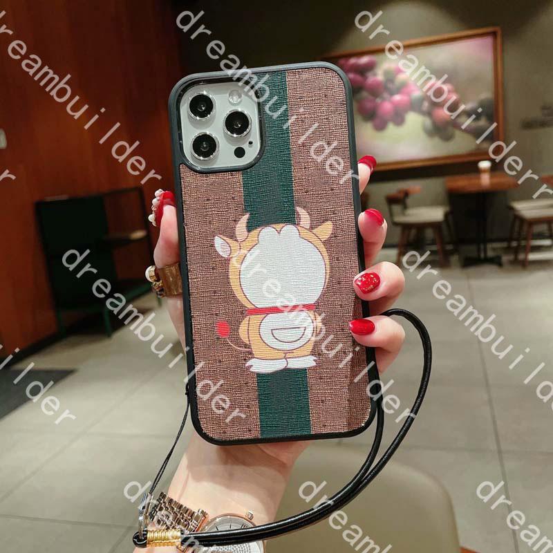 Casi del telefono della moda per iPhone 13 12 Pro Max 11 11Pro X XR XS XSSmax Caso in pelle PU Samsung S20 S20P S20U Plus Note10 10p Nota 10 20 20U 20ULTRA