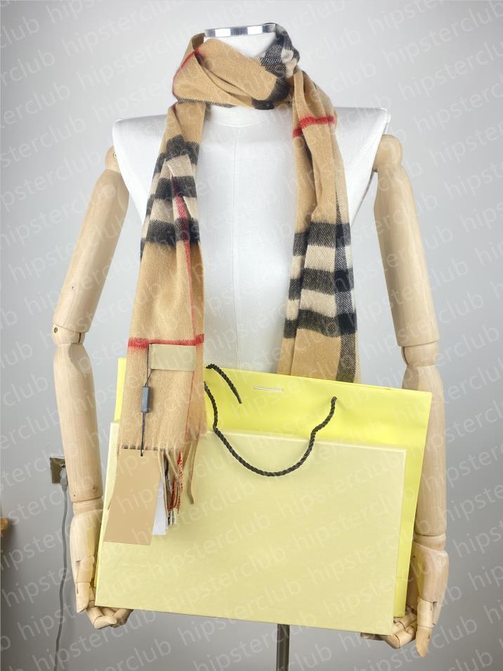 2021 зимний теплый дизайнерские шарвы оптом 100% кашемировый джентльмен полосатый шерстяной мужской шарф мода мода полосатый женский шарфс подарочная коробка доступна размер 30 см * 180см