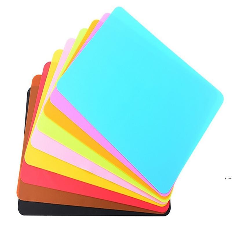 40x30cm alfombras de silicona para hornear Muiti-Función Silicona Horno Magina Aislamiento térmico Aislamiento antideslizante Mesa de horquilla Mesa de niño Placemat HWC7625