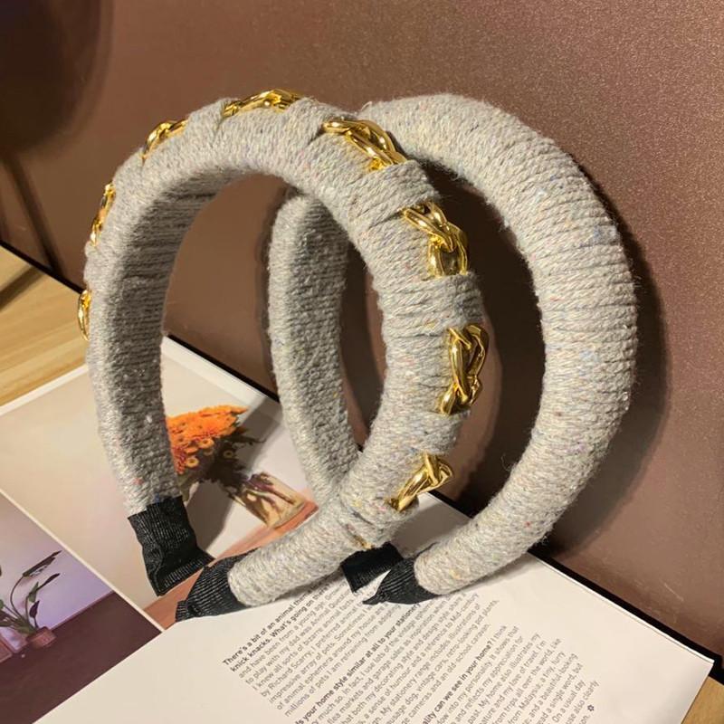 الرجعية الأصلي مخصص لف حبل هيرباند الرياح شارع واسعة نسخة عقال سميكة الإسفنج اكسسوارات للشعر الإناث