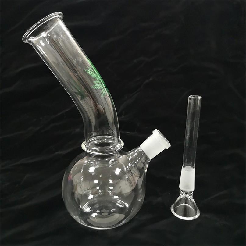 7 pollici di vetro alto Bong narghilè tubi dell'acqua dei tubi del bicchiere di riciclatore Bongs DAB Rig Burner di olio Bruciatore di cenere Catcher Bubbler Cancella FY2226
