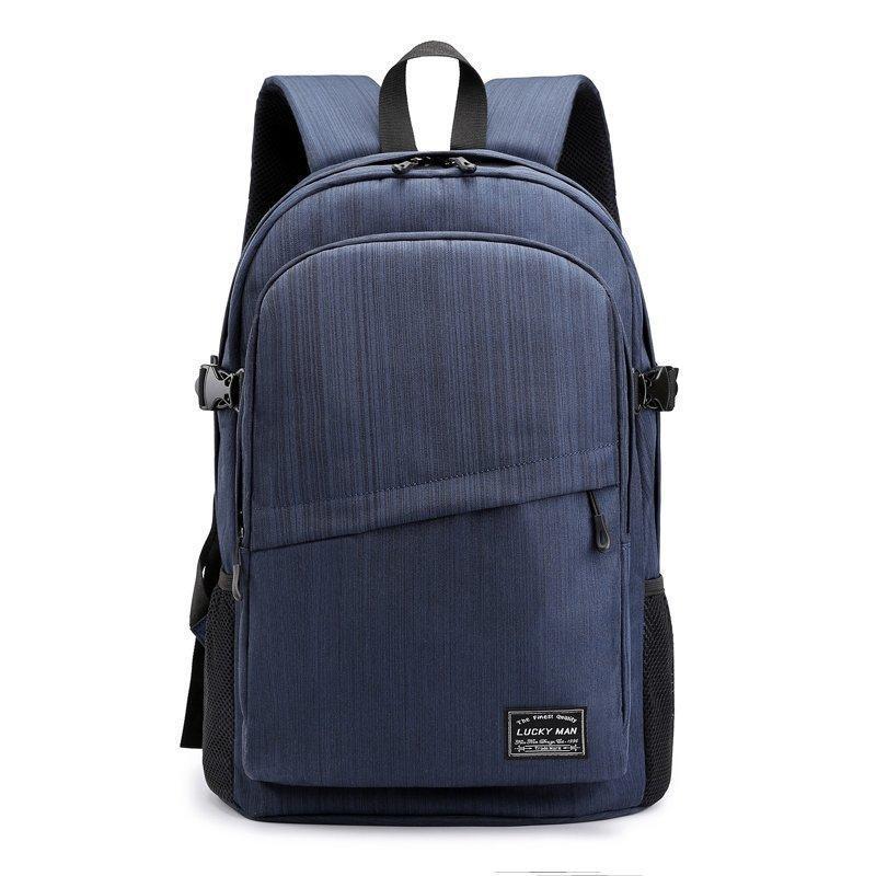 Backpack Male Fashion Men College Large Capacity Men's Boy's Schoolbag Travel Bag Computer Laptop