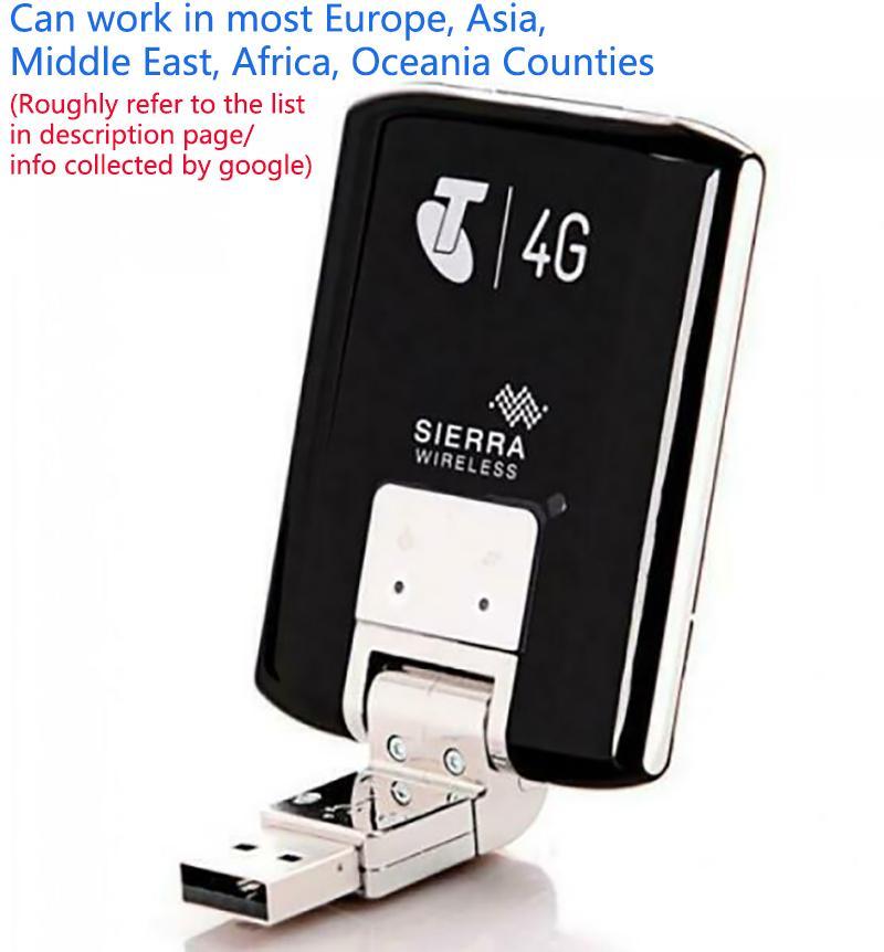 Unlocked Wireless Modem Aircard Sierra 320U 4G LTE Modem WIFI 100Mbps WCDMA Wireless USB Dongle Network
