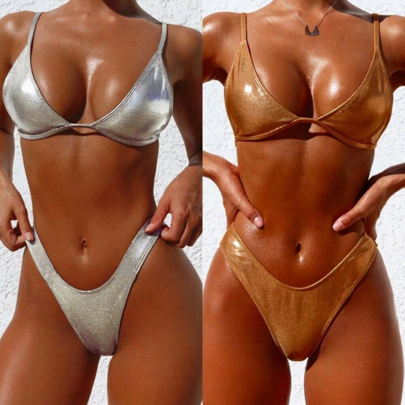 Bikini maillot de bain femme maillot de bain 2021 Taille haute femme push up sexy Set ABB deux pièces