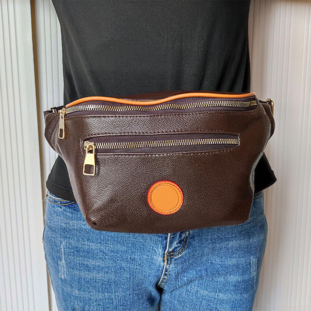 Hohe Qualität Luxusdesigner Taille Taschen Kreuz Körper Neueste Handtasche Berühmte Bumbback Mode Umhängetasche Braun Bum Fanny Pack mit drei Arten M2295 Glitter2009