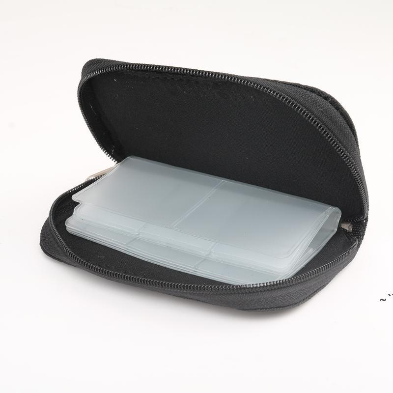 Slots Speicherkarte Aufbewahrungstasche Tragetasche Halter Brieftasche für CF / SD / Micro SD / SDHC / MS / DS Game Zubehör Box Taschen OWD5869