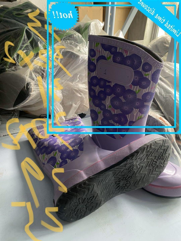03 Jahre alte Babys weiche, helle und rutschfeste Wanderschuhe Natürliche Gummi Regenschuhe Mädchen Junge niedlich 1