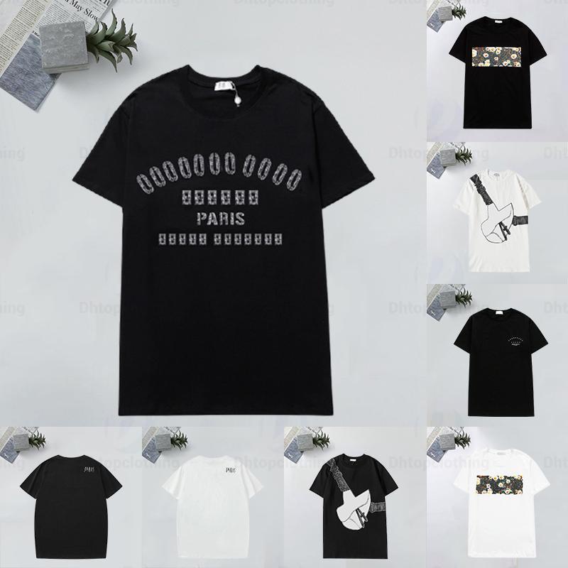 Sommer T-shirts Hohe Quanlity lose Tees Designer T-Shirt Männer Frauen Kurzarm Casual T-Shirts