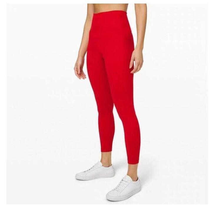 Подсикал сплошной цвет женские йоги брюки высокие талии спортивный тренажерный зал носить леггинсы упругие фитнес леди общие полные колготки Размер тренировки XS-XL (005
