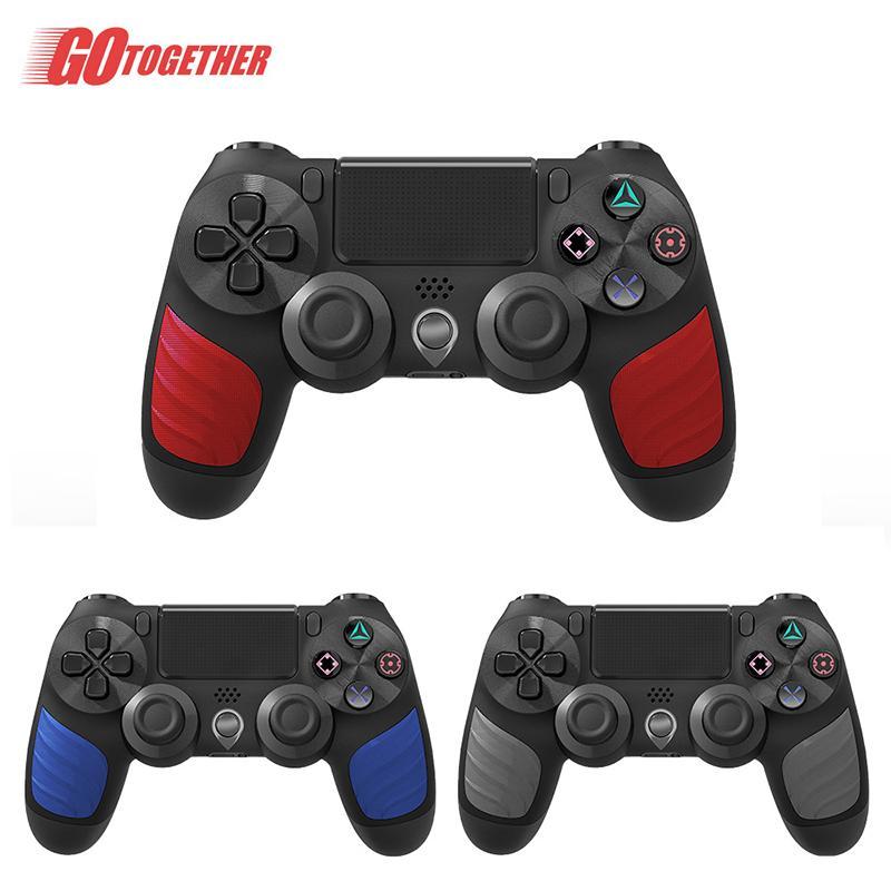 Newer Bluetooth Wireless Controller para PS4 Vibration Joystick Gamepad Game Handle Controllers Play Station com pacote de varejo
