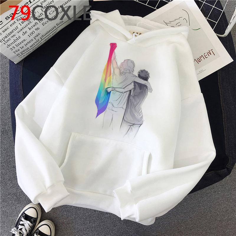 Fine Linie Harry Styles Hoodies Femme Anime Gedruckt Weibliche Pullover Grafische Frauen-Sweatshirts