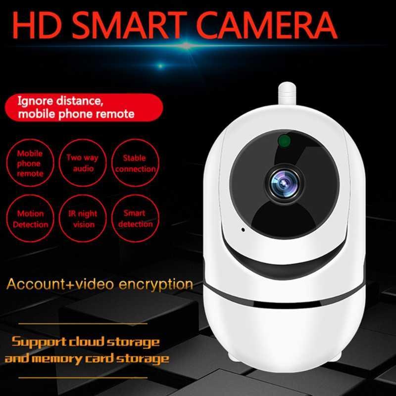 كاميرات IP كاميرا لاسلكية 1080 وعاء أمن الوطن واي فاي سحابة sd الذكية تتبع السيارات IR للرؤية الليلية اتجاهين الصوت مراقبة الدوائر التلفزيونية المغلقة