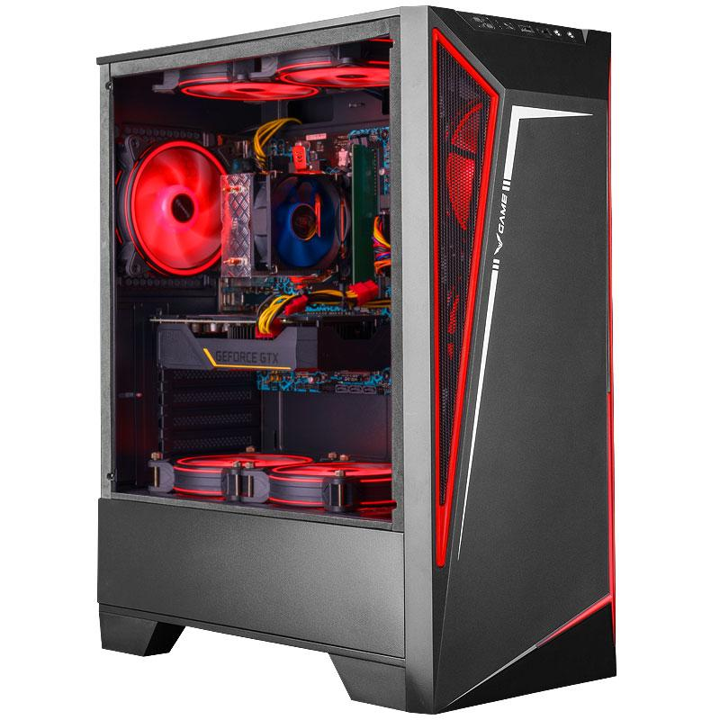 iPason Gaming Desktop PC i3 10100 4 Core يصل إلى 4.3 جيجا هرتز GTX 1050TI 4GB 240GB SSD 8GB DDR4 Windows 10 الصفحة الرئيسية