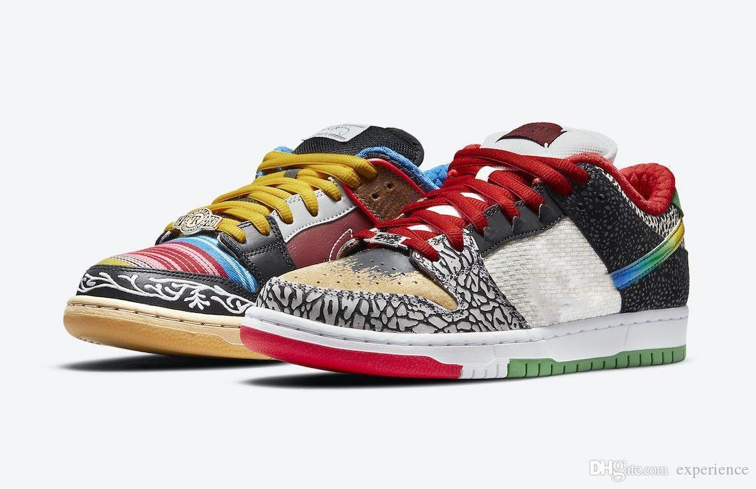 2021 أصيلة دونك ما هي بول p-rod sb أحذية منخفضة 3 متر عاكس أسود أحمر أخضر أزرق أصفر الرجال النساء الرياضة أحذية رياضية مع مربع الأصلي CZ2239-600