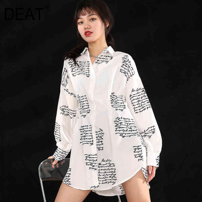 spring fashion women clothes turtleneck full sleeves knitting pullover sweater and V-neck sling T-shirt WK31601 210421