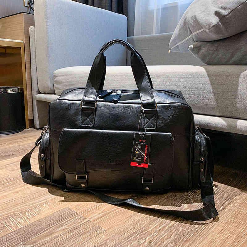 Büyük Kapasiteli Erkek Seyahat Çantaları Seyahat Duffle Erkek Bagaj Çanta Su Geçirmez Bavul Laptop Çantaları Kadın Çanta Kadınlar Için 210329