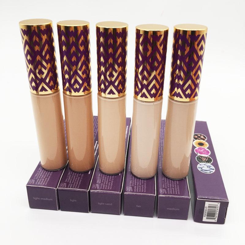 5 Colors Makeup Tape Concealer Foundation Face Cream Concealers Correcteur Contours 10ml Light Medium Light Sand Fair