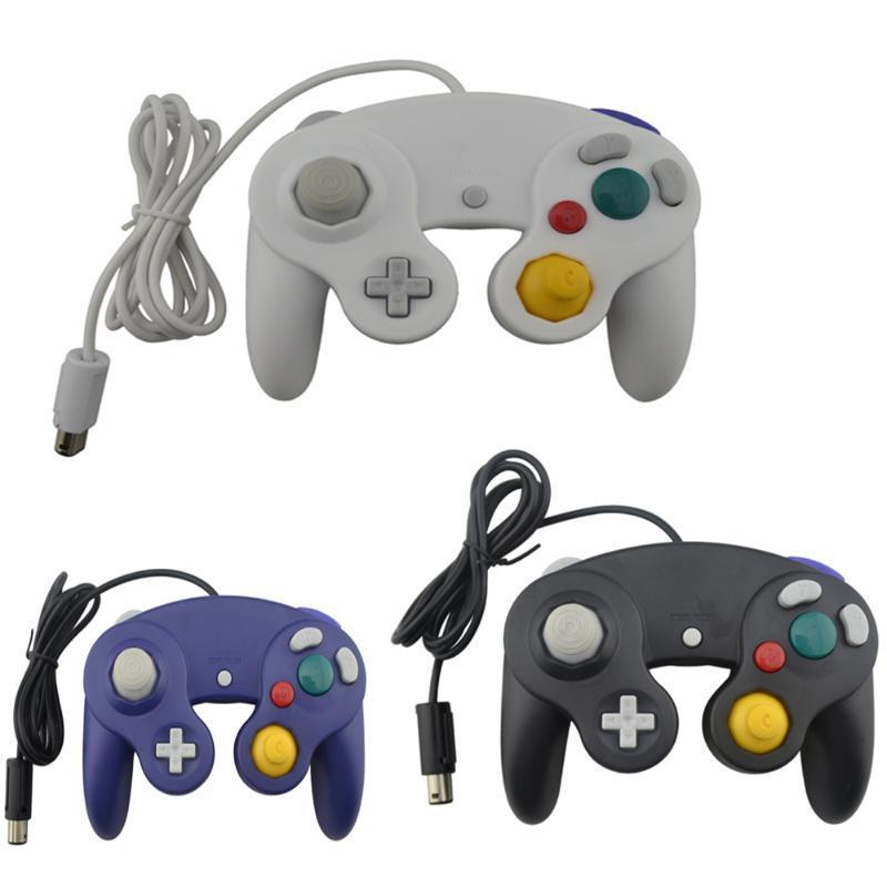 تحكم الألعاب المقود السلكي التحكم في جهاز التحكم N-G-C وحدة تحكم GC PC USB Gamepad Joypad Joystick Mac الكمبيوتر