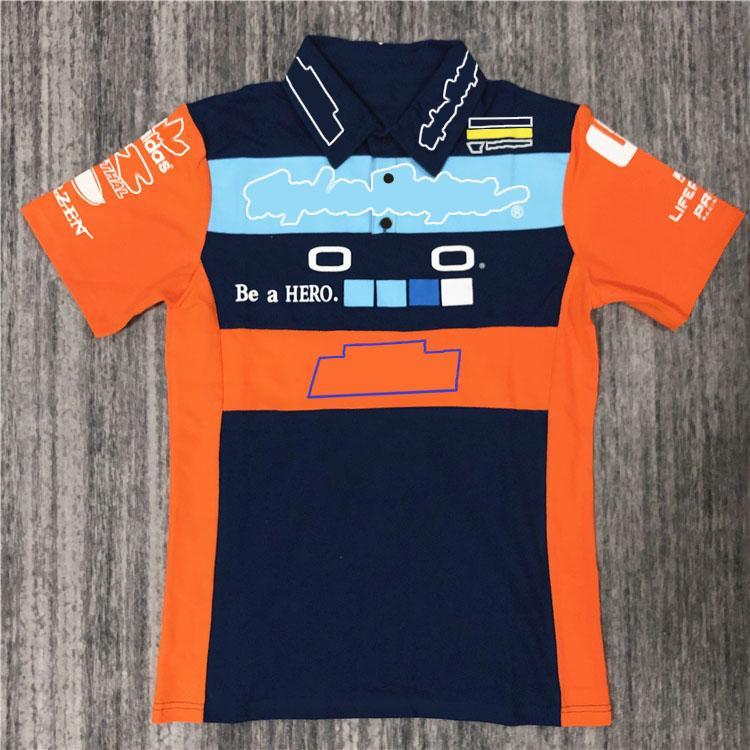 Motocicleta Camisa de secado rápido Golf Ocio Racing Traje de carreras Secado rápido Camisa transpirable Cross-Couth Country Motorcycle Polo Shirt