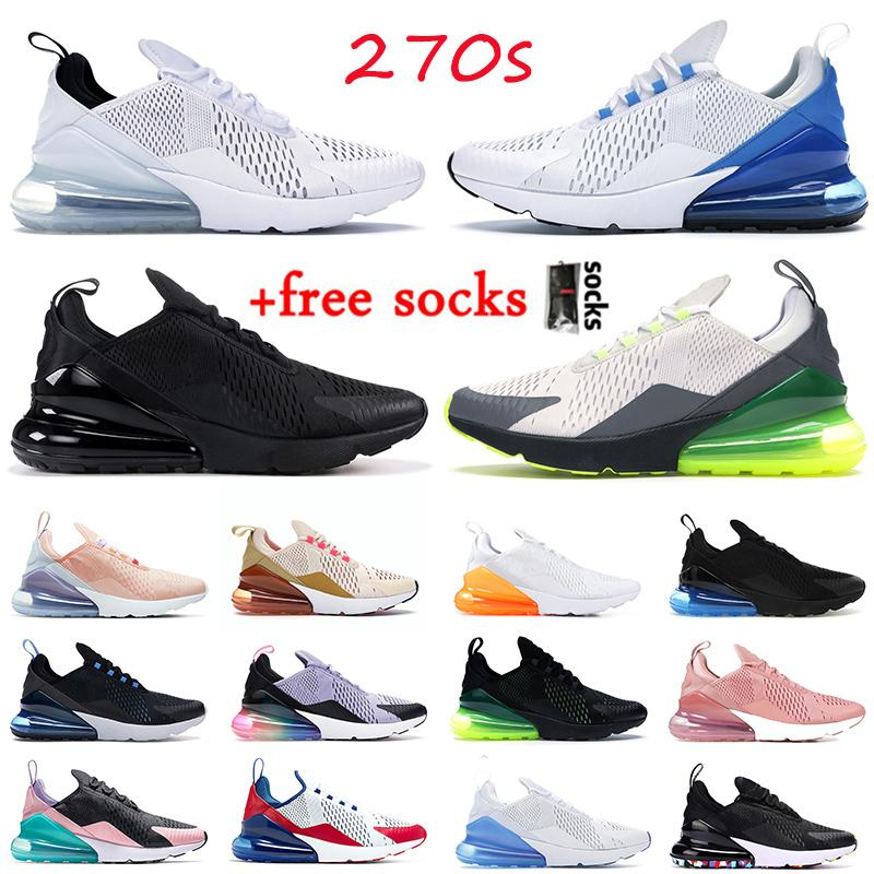 Schuhe nike air max 270 react airmax 270 STOCK X Travis Scott Laufschuhe TOP QUALITY Männer Frauen Pastell SAFARI Equestrian Pink Outdoor Designer Sneakers