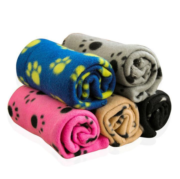 La dernière couverture de 100x70cm, une variété de couvertures chaudes moulées au bout des styles pour les chats et les chiens pour animaux de compagnie