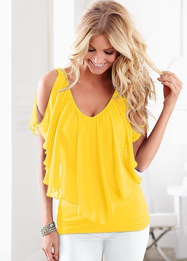 Ly femmes lâche halets épaule de profondeur v nycon chemise chemise occasionnel blouse m99 blouses femmes chemises
