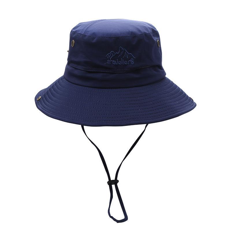 Cappello da pescatore da uomo pescatore da uomo Cappelli da pesca da esterno Cappelli solare UV Cappelli da parasole Traspirante Estate Dalla Primavera Summer Wide Brim Cap HHC7579