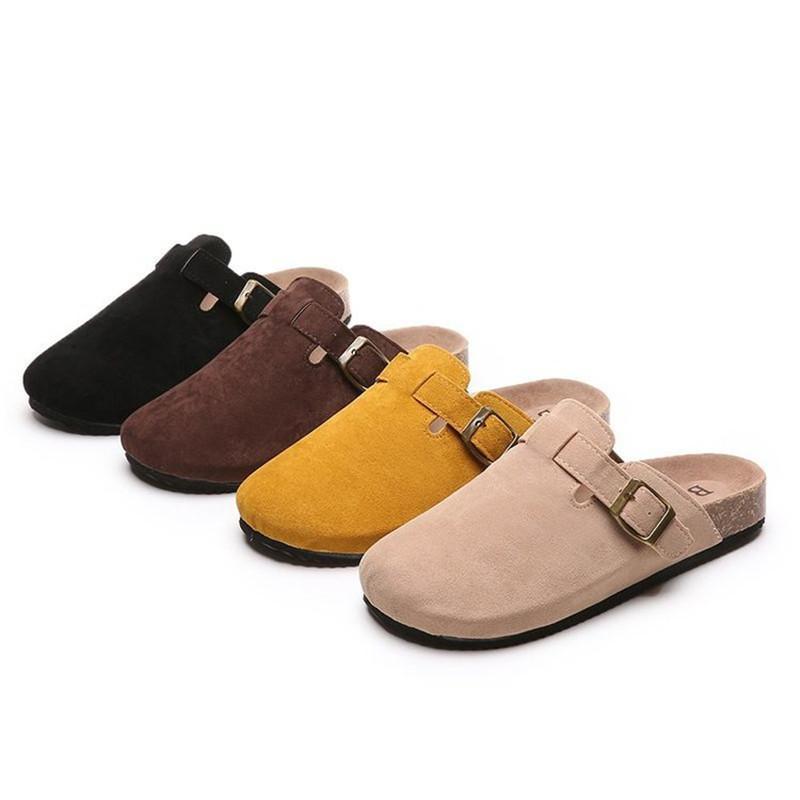 Hausschuhe 2021 Est Sommer Paar Mann Erwachsene Kork Sandalen Frauen Casual Beach Gladiator Baotou Schuhe Schnalle Strap Größe 35-43