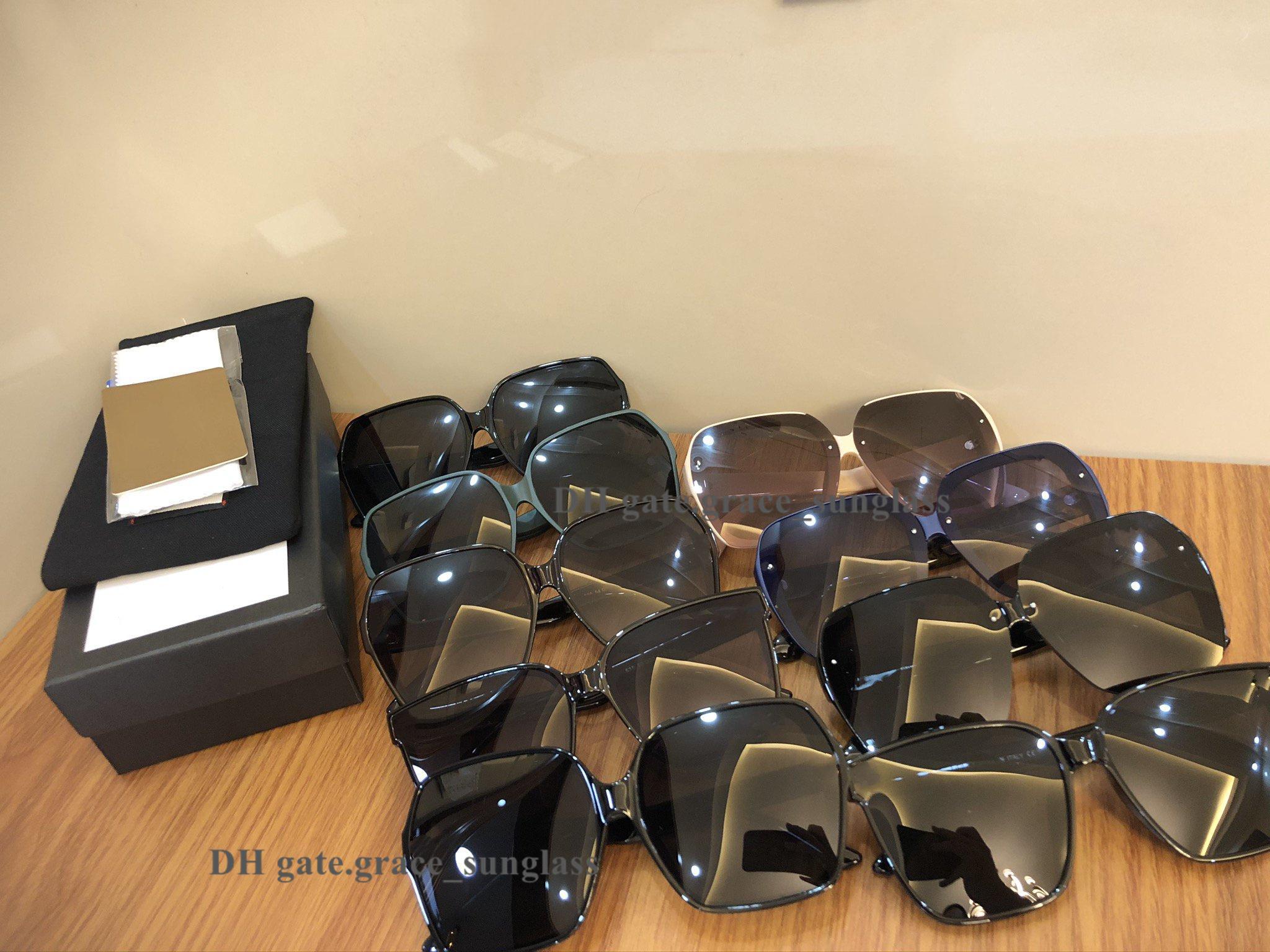 최고 품질 디자이너 선글라스 남자 여성 고양이 눈 사각 프레임 편광 된 UV400 폴라로이드 렌즈 고급 안경 유니섹스 패션 클래식 태양 안경 무료 상자 선물