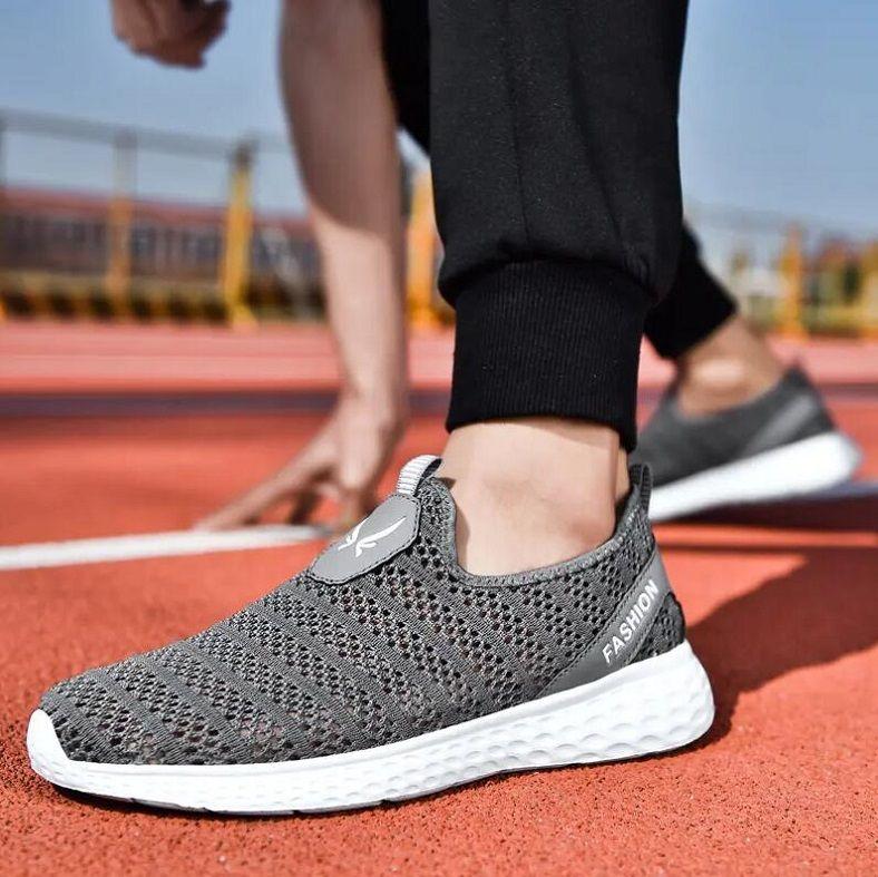 HE101 Moda Tasarımcısı Sneakers Ayakkabı Nefes Deri Yüzey Yüksek Kaliteli Örgü Erkekler Indirim Eğitmen Rahat Yürüyüş Beyaz Siyah EU39-44