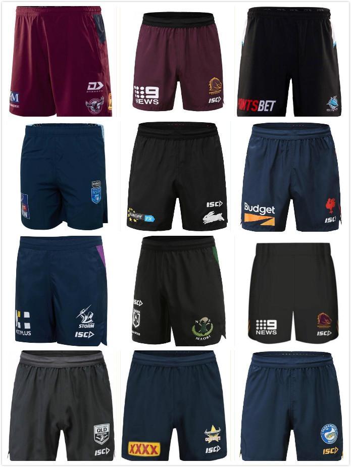 NRL Rugby Ligi Formaları 2021 Melbourne Fırtına Parramatta Yılanlar Kısa Şort Brisbane Broncos Warriors NSW 5XL Penrith Panterler