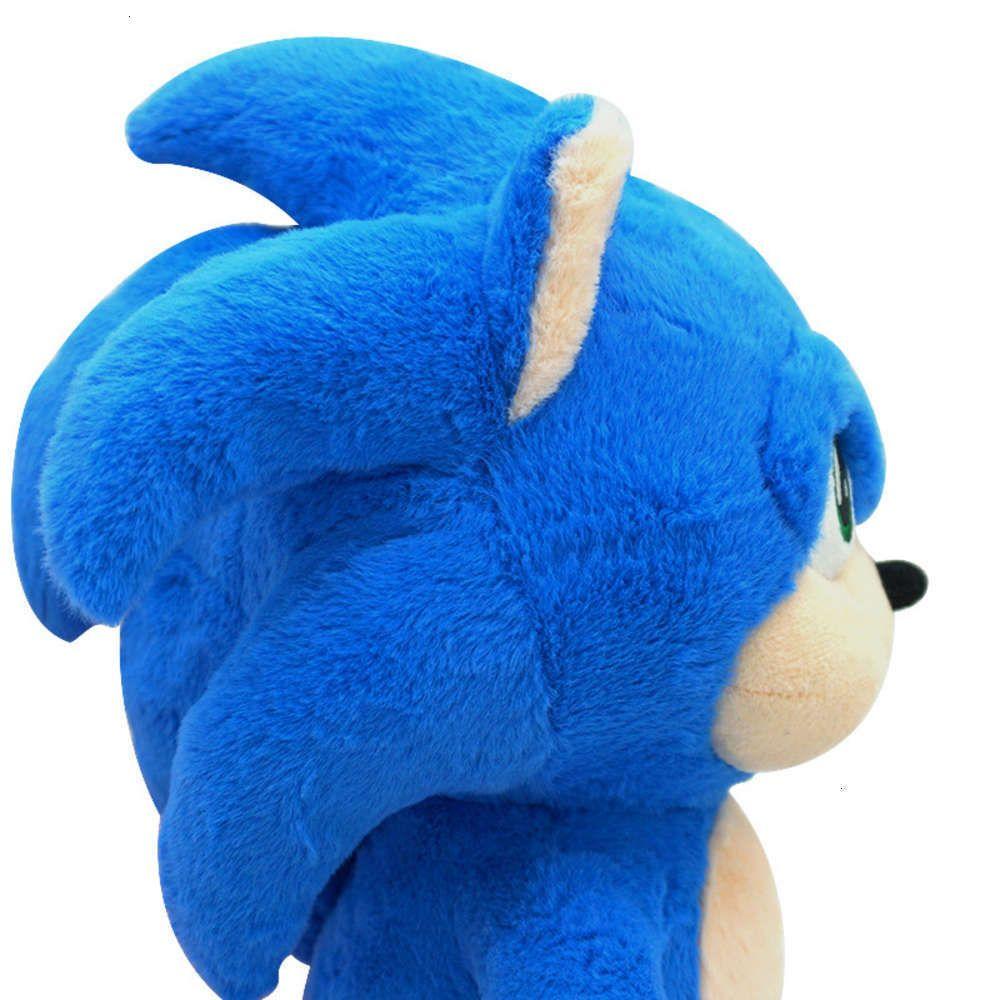 Сюффицированные животные Физическая стрельбами Сонни ежик Sonic Boy плюшевая игрушка же кукла