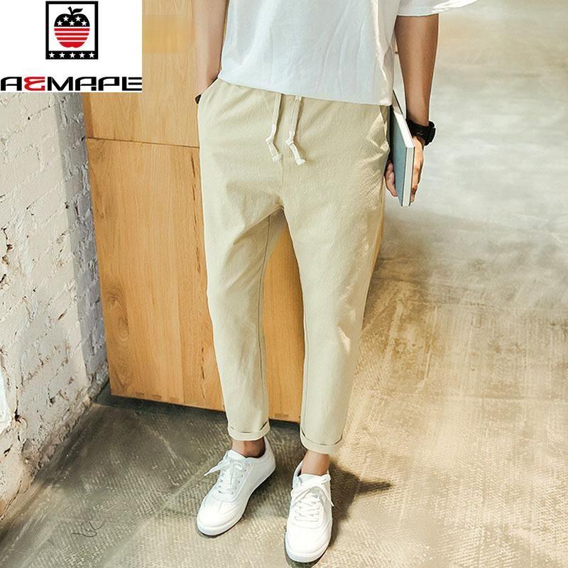 Бренд LawrenceBlack мужские бельевые брюки 2021 высокое качество лодыжки, промежуточные мужские бегуны вскользь