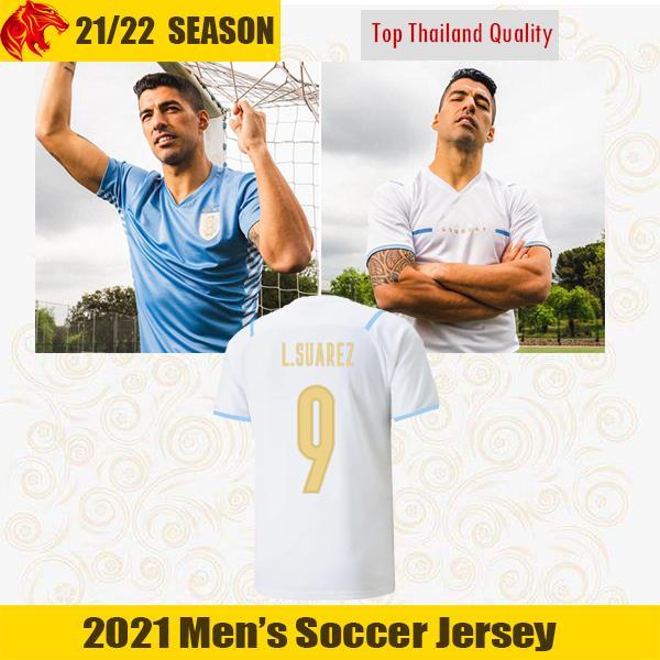 21 22 Uruguay Maillot de foot 2021 2022 Copa America SUAREZ CAVANI GODIN F. Valverde TORREIRA Maillot de football N. Nández J.M.Giménez De La Cruz Uruguay Kit