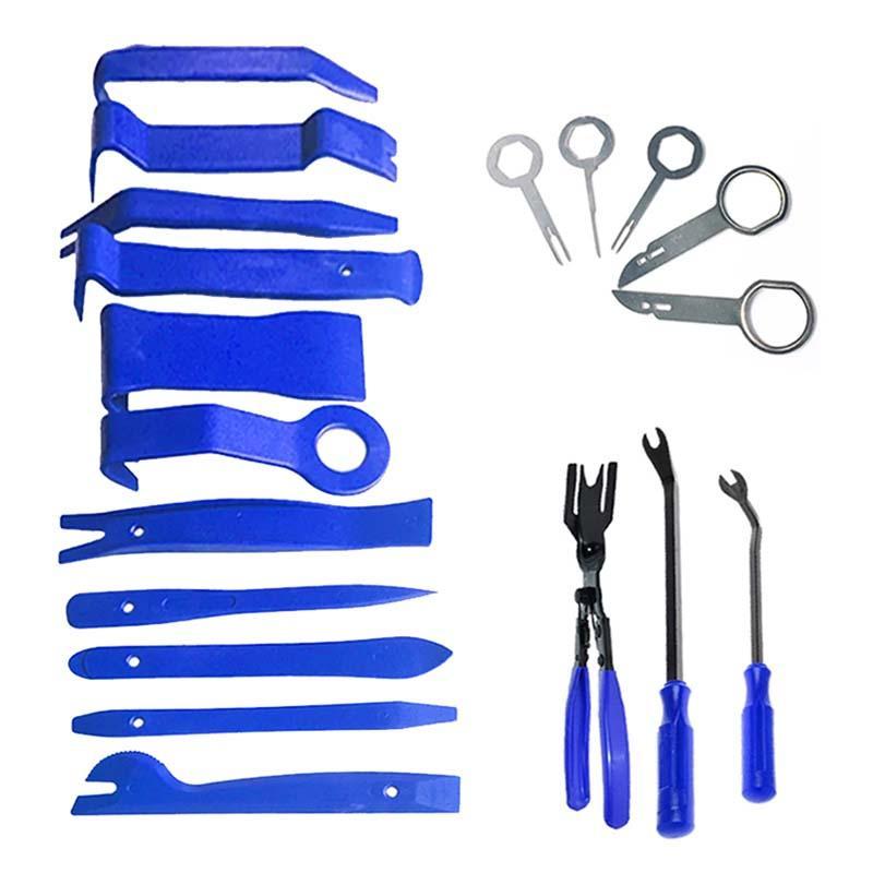 Car Hand Repairs Kit Tool Disassembly DVD Stereo Trim Panel Dashboard Removal Plastic Repair Tools