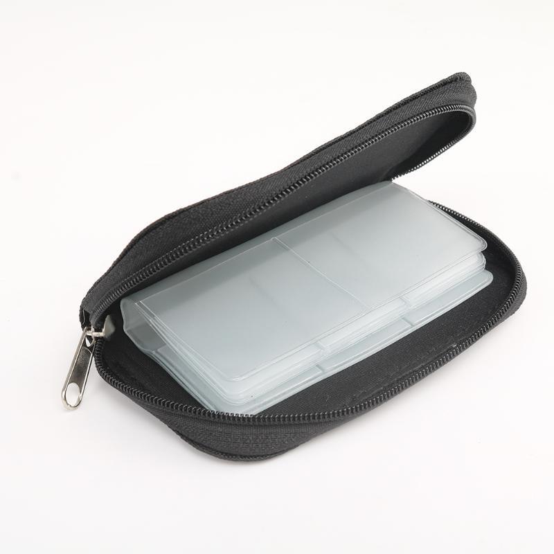 Slots Speicherkarte Aufbewahrungstasche Tragetaschenhalter Brieftasche für CF / SD / Micro SD / SDHC / MS / DS Game Zubehör Box Taschen OOD5869