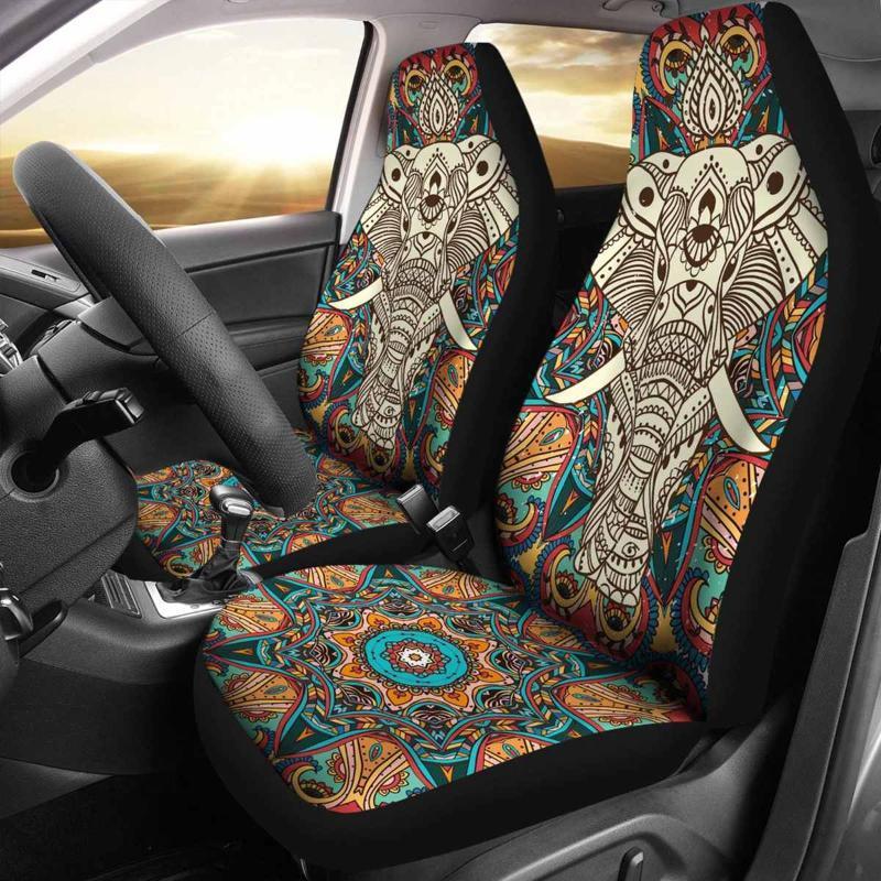 Autositz deckt universelle Innenraumdekor Tiermuster Auto abdeckung vorne protector Zubehör