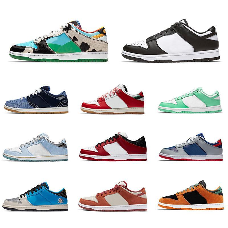 Dunk SB Low Pro Running shoes دونك ترافيس سكوتس viotech البرقوق الباندا حمامة LX قماش أبيض رمادي حظة قليلة من الرجال والنساء أحذية رياضية