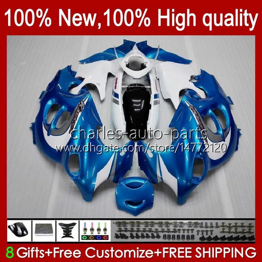 Körper für Suzuki Katana GSX600F GSXF600 GSXF750 GSXF 600 750 CC 98 99 00 01 02 29.58 600cc 750cc GSX750F GSXF-600 GSXF-750 1998 1999 2000 2001 2002 Verkleidung blau glänzend BLK