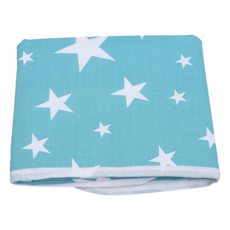 세탁 가능한 태어난 기저귀 변화 패드 휴대용 방수 매트 라이너 천 기저귀