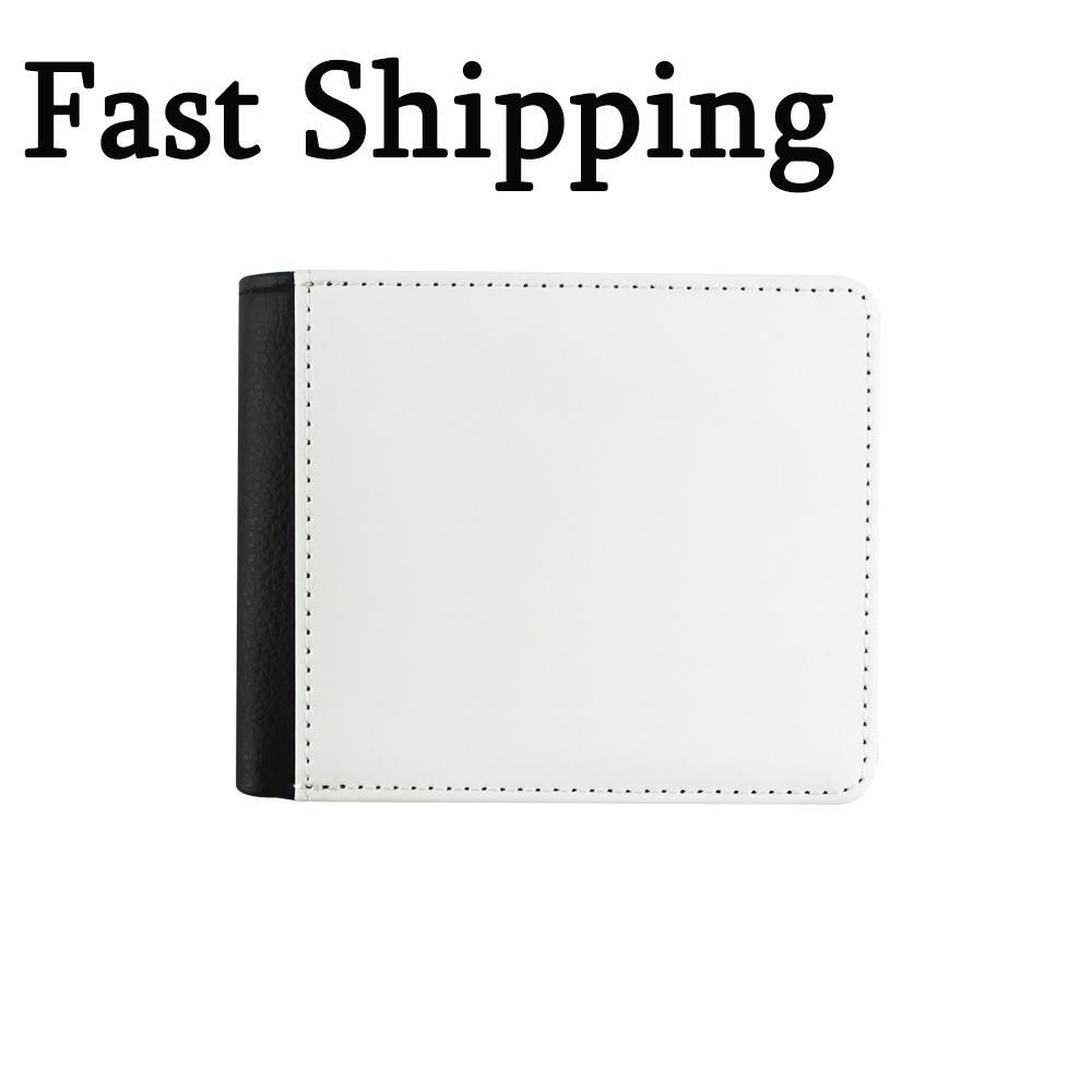 التسامي عملة محفظة حقيبة فارغة diy جلد الرجل محفظة بطاقة الإبداعية حزمة جواز السفر هدية عيد