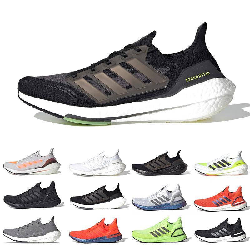 ultra boost 2021 hommes solaire noir chaussures de course jaune ultraboost 7,0 triple core blanc hommes gris formatrices sneakers sport 36-45